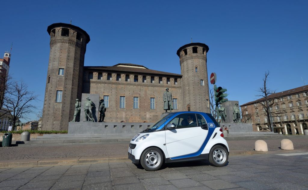 car2go arriva a Torino