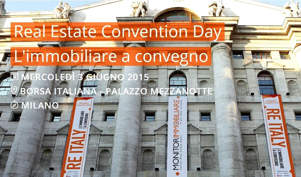 RE Italy: Immobiliare a Convegno