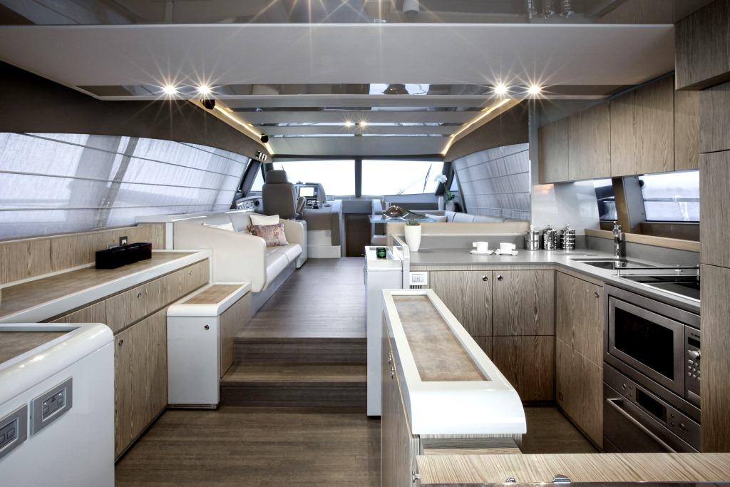 I dispositivi Eikon di Vimar per i nuovi Yachts Ferretti