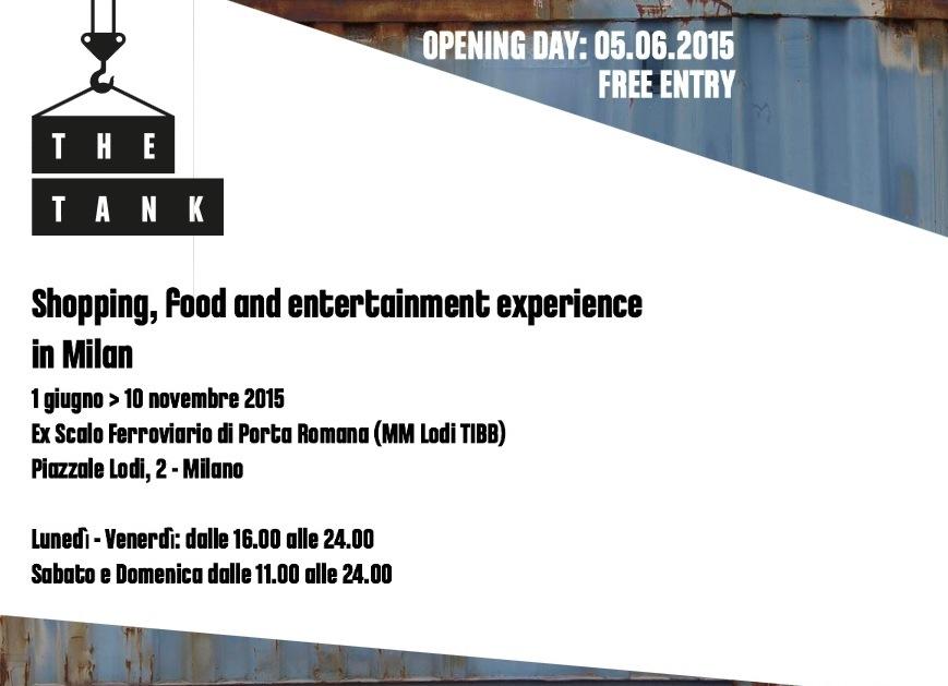 40 container e 5000 mq di eventi, shopping e food nello scalo ferroviario di Milano