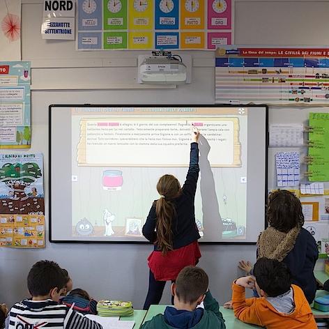 Grazie al digitale Epson boom di iscrizioni in scuola primaria