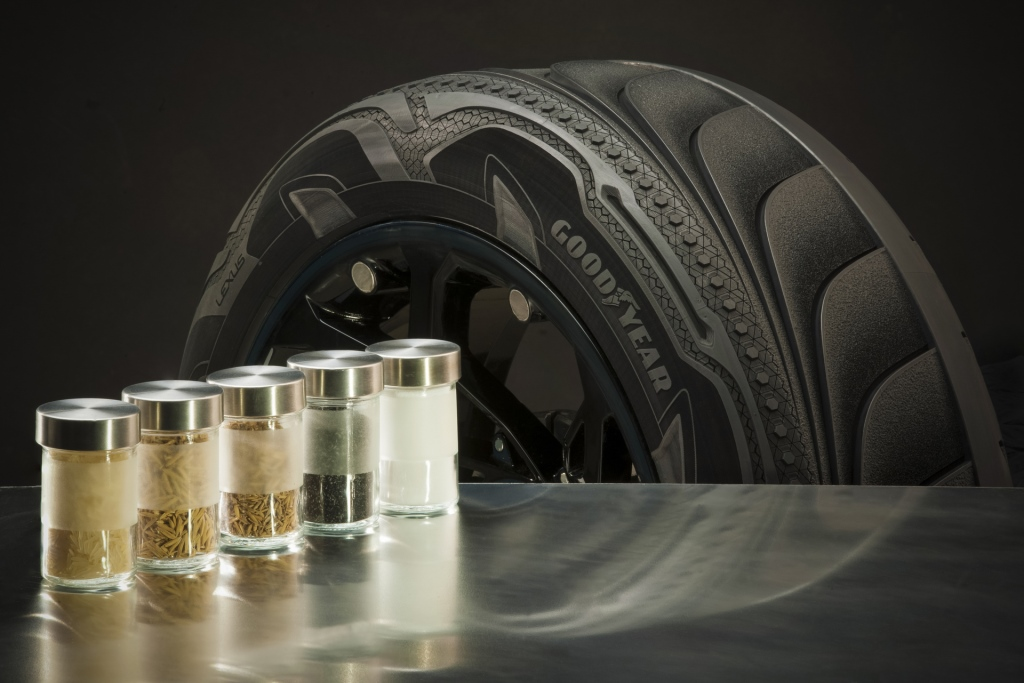 Goodyear reaches supply agreements for rice husk ash silica