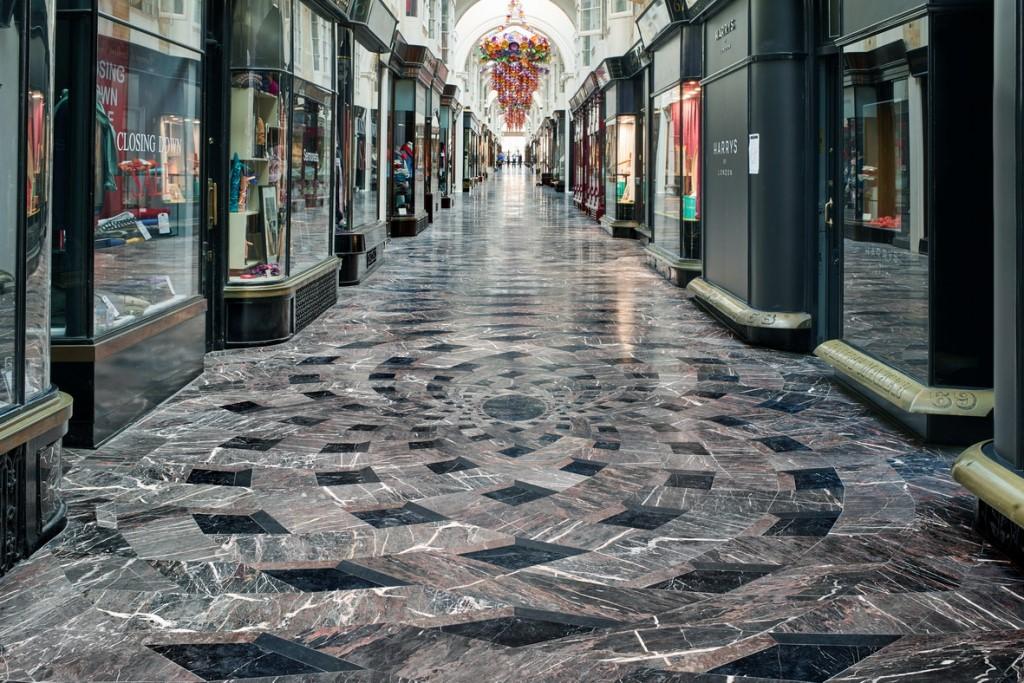 Burlington Arcade, Londra: lusso della tradizione made in Margraf