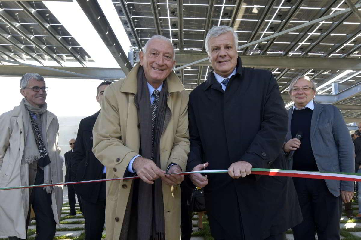 Università di Parma: Ministro Galletti inaugura Giardino Fotovoltaico realizzato da TecSolis