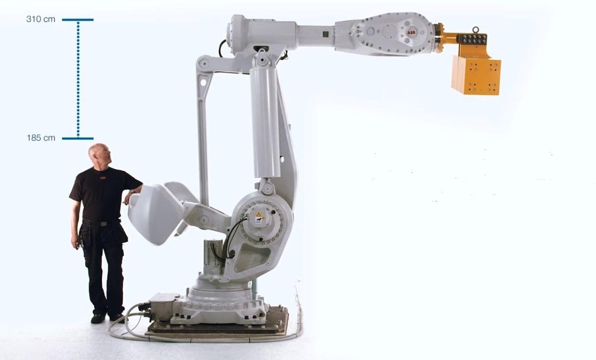 Il robot più grande mai realizzato da ABB