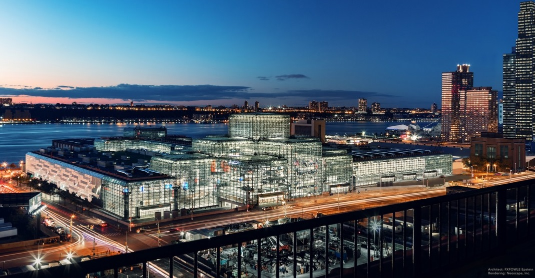 NY Governor Cuomo: Dramatic Expansion of the Jacob K. Javits Center