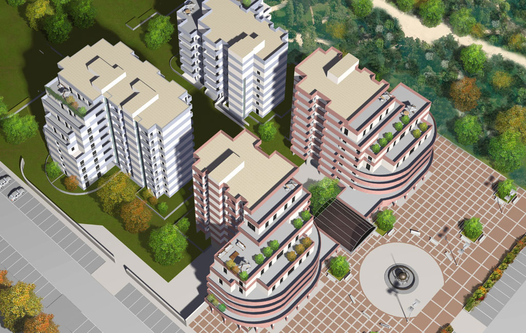 Schöck: riqualificazione a residenza di ex area industriale