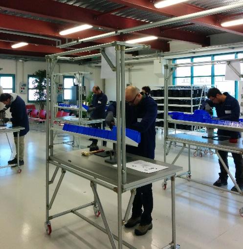 Lean Factory School Bonfiglioli Consulting Impresa-Palestra