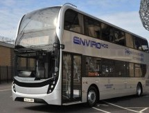 Scania launches world's first Euro 6 double-deck gas-powered bus