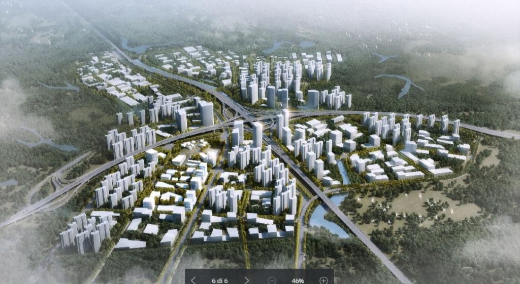 Progetto CMR disegna la Città del Futuro a Shenzhen.