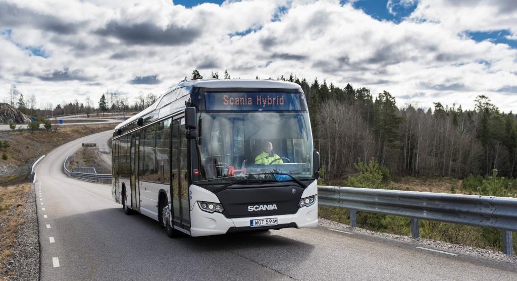 Scania hybrid buses for European cities