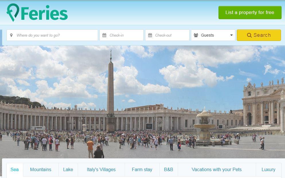 Feries.com network mediterraneo turismo extra-alberghiero