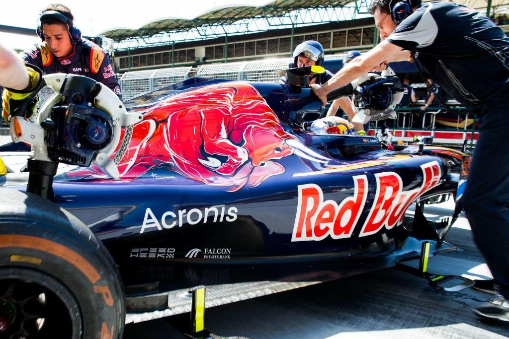 Acronis sponsor della scuderia F1 Toro Rosso