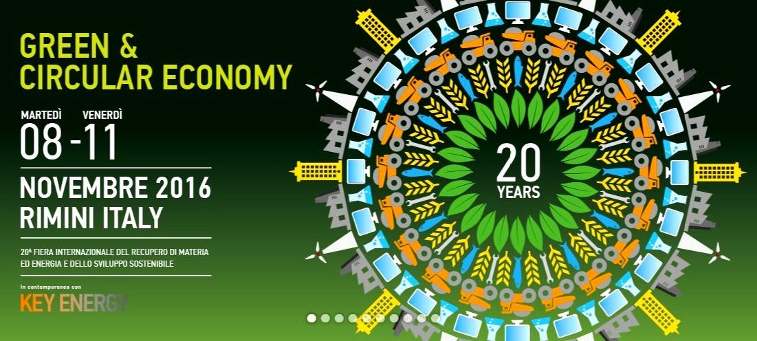 Ecomondo: bioindustria per lo sviluppo del Mediterraneo