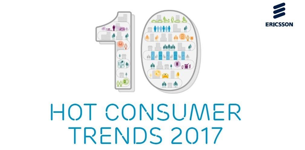 10 Hot Consumer Trend secondo Ericsson