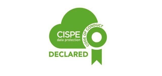 CISPE Certificazione sulla protezione dei dati
