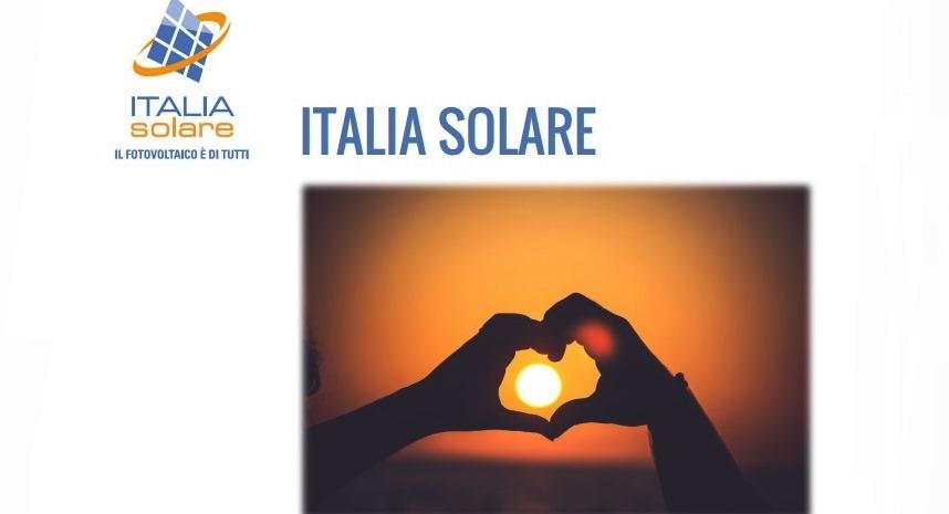 Italia Solare: SEN è migliore opportunità per energia rinnovabile