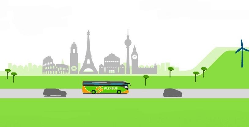 FlixBus unisce città in Italia e in Europa con i suoi bus