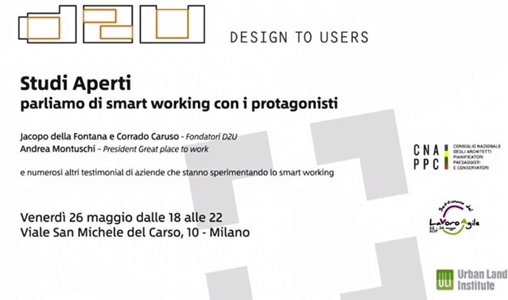 D2U Smart Design per Smart Working