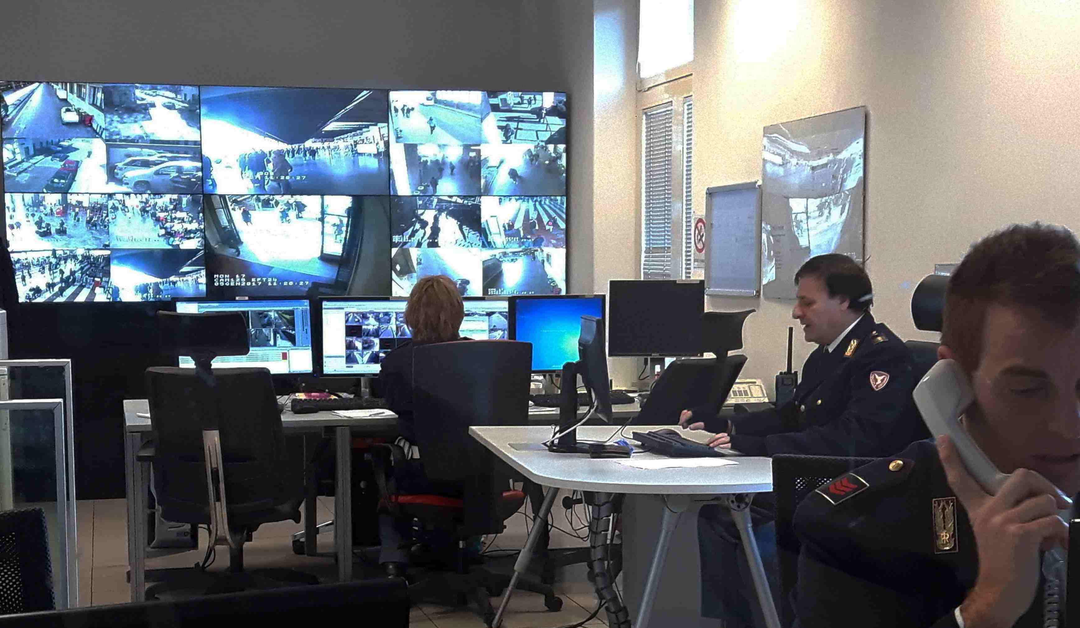 Sicurezza nelle stazioni con monitor Panasonic