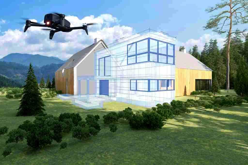 Droni Parrot specializzati per edilizia