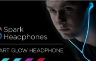 Spark laser glowing headphones