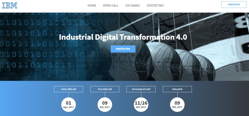 Call for Industrial Digital 4.0