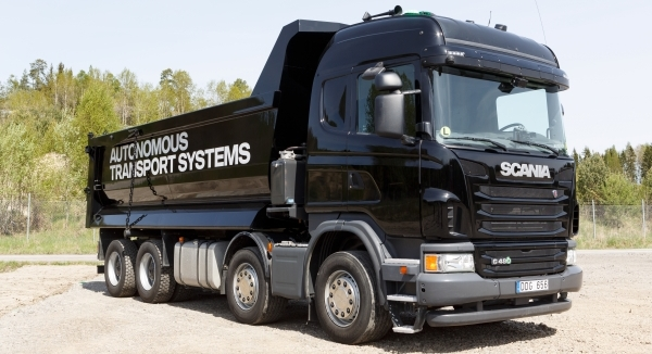 Scania desktop driving