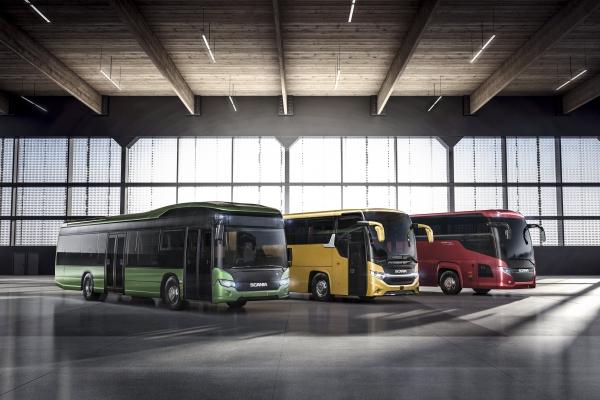 Scania bus ibrido