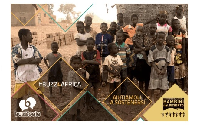 #BUZZ4AFRICA impegno solidale
