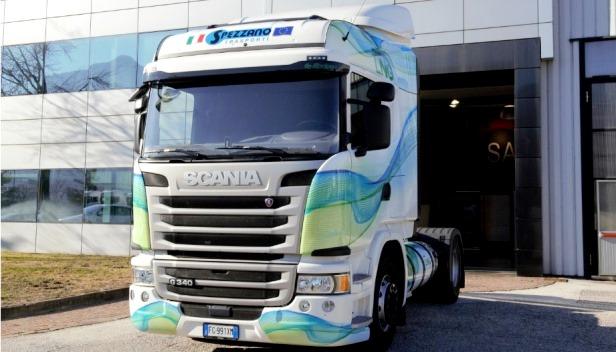 Scania LNG per Spezzano Trasporti