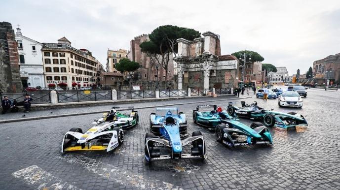 ABB FIA Formula E: Rome