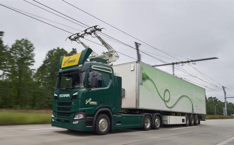 Scania: Trucks for German eHighways
