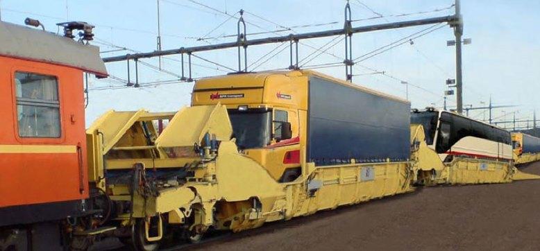 Flexiwaggon: camion sul treno