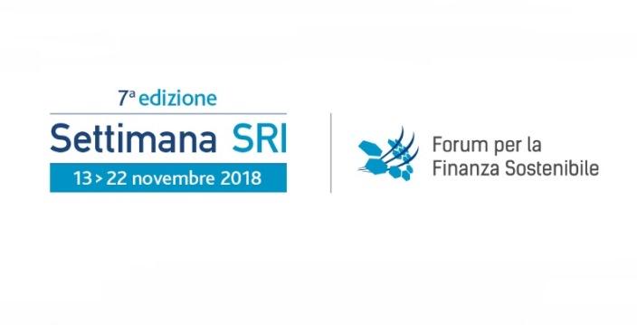 Settimana SRI: finanza sostenibile 2018