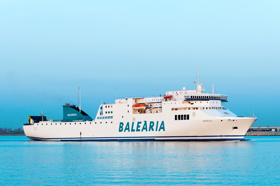 RoPax Ferries to LNG Operation