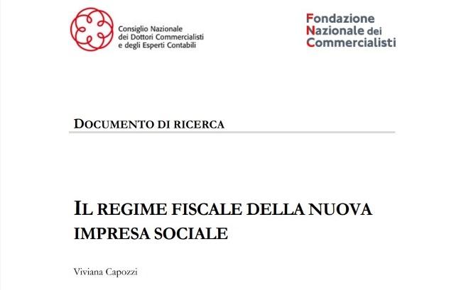 Fiscalità Impresa Sociale