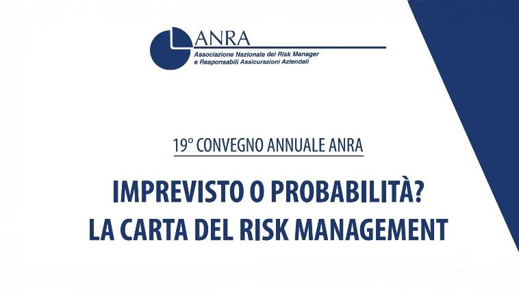 Risk Management: ANRA Convegno