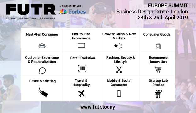 FUTR retailers and brands