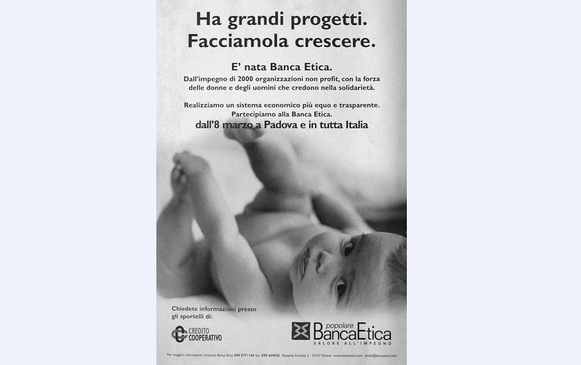 Banca Etica 20 anni