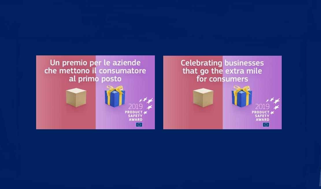 Sicurezza prodotti: premio UE