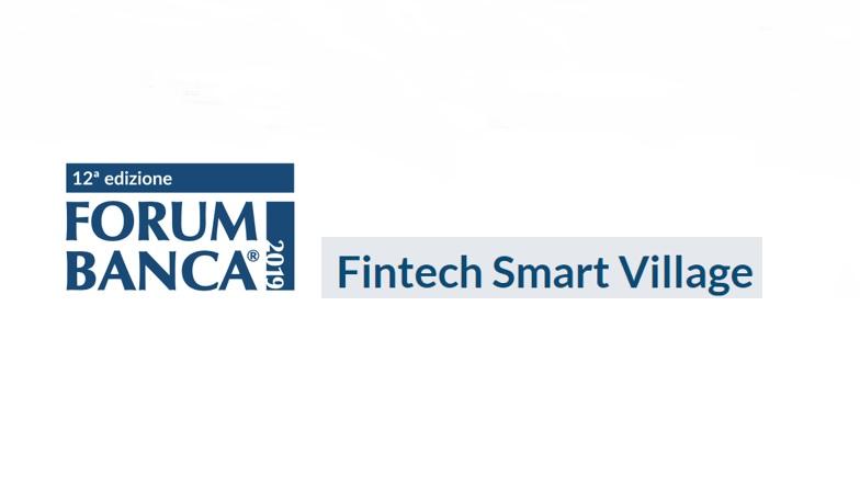 Fintech Smart Village a Forum Banca