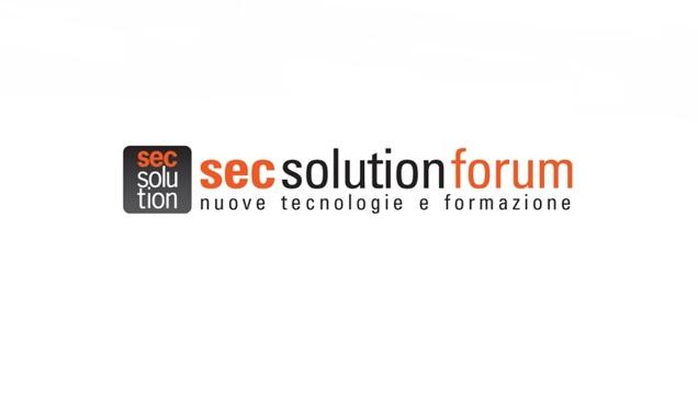 SecSolutionForum: sicurezza, formazione