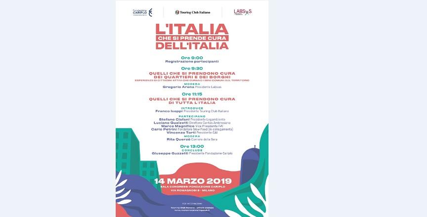 L'Italia che si prende cura dell'Italia