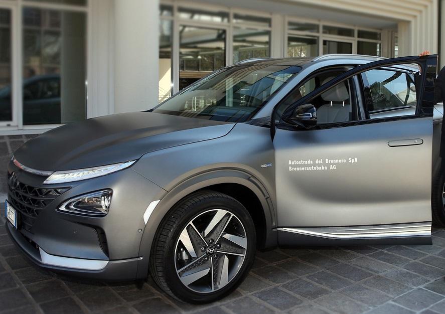 Hyundai Nexo idrogeno