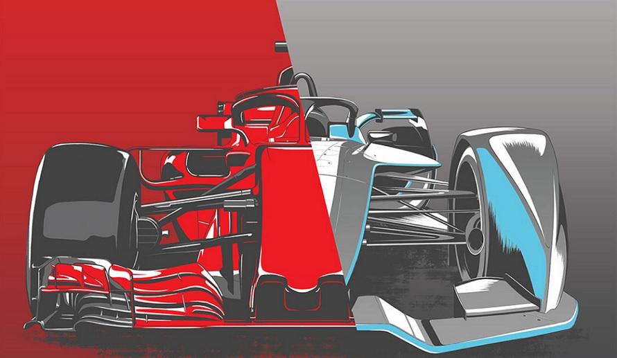 Formula E vs Formula 1 brakes
