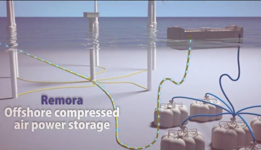 Accumulo energia eolica marina