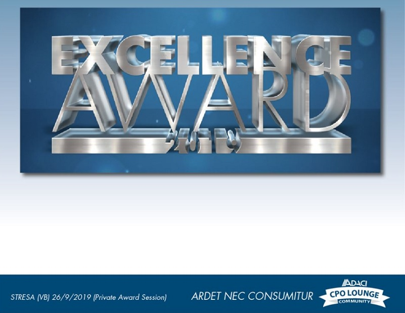 Award CPO Community ADACI