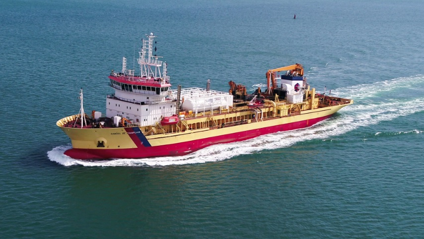Dredger to Dual-Fuel Operation Delivered