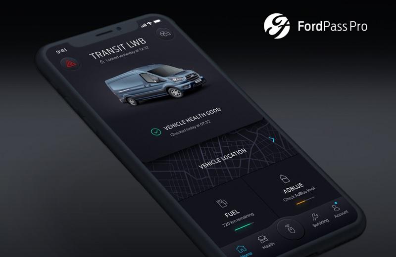 App FordPass Pro connette